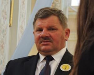 Wójt Gminy Czerwin Ryszard Gocłowski