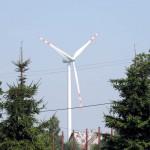 wiatrak, siłownia wiatrowa, elektrownia wiatrowa, Czerwin