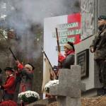 Odsłonięcie pomnika powstańców styczniowych poległych w bitwie pod Myszyńcem / epowiatostrolecki.pl