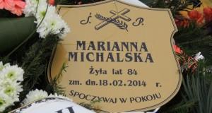 Pogrzeb Marianna Michalska