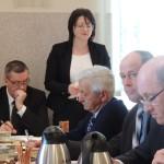 Sesja rady gminy w Troszynie.