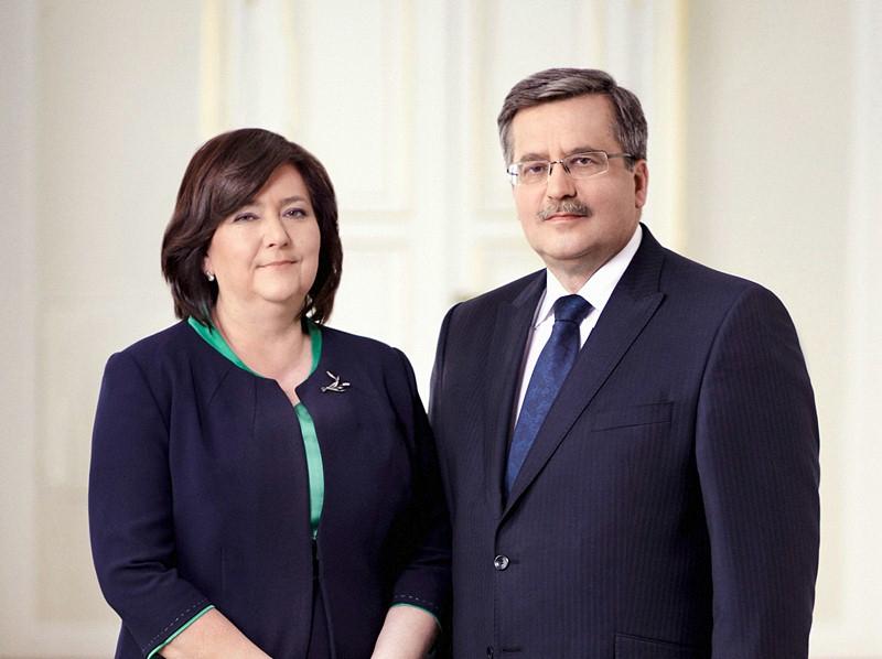 para prezydencka w Łysych, obchody niedzieli palmowej w udziałem pary prezydenckiej, niedziela palmowa, prezydent Bronisław Komorowski