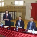 Spotkanie z przedstawicielami PiS w Czerwinie