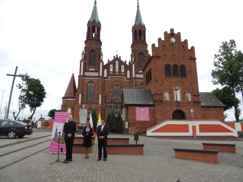 Uroczystość podniesienia kościoła w Myszyńcu do godnosći bazyliki mniejszej (2)