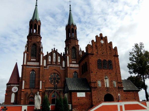 kościół w  Myszyńcu