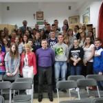 Dariusz Maciak spotkał się z młodzieżą szkolną.