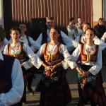 Kud Studenica z Bułgarii w Dylewie, zespół ludowy