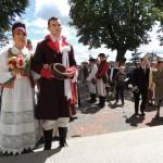 Wesele Kurpiowskie 2014, ślub, kościół w kadzidle, Natalia Śnietka, Dominik Nalewajk