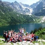 Wycieczka uczniów z Czerwina w góry