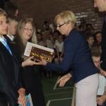 Zakończenie roku szkolnego gimnazjum nr 1 2014, Ostrołęka