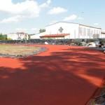 Przebudowa boisk w Lelisie.