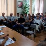 Czarnia, aldesa, budowa linii elektroenergetycznej