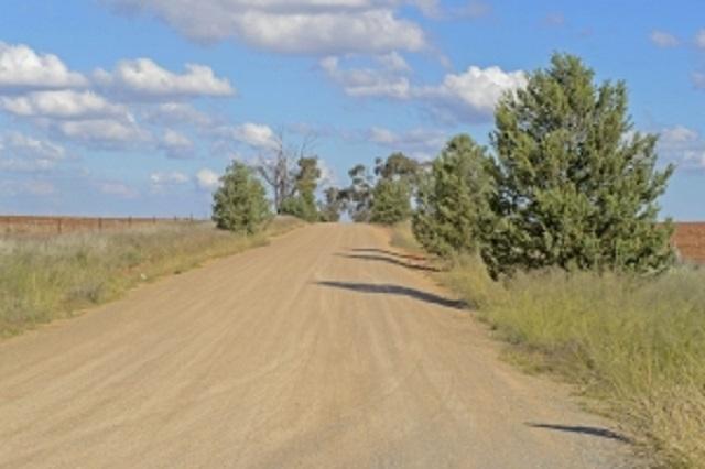 droga żwirowa