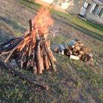 Festyn Wakacyjny w Szafrankach, ognisko rodzinne w Zalasiu