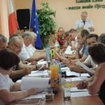Nadzwyczajna sesja rady gminy w Lelisie