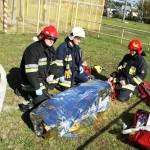 Ćwiczenia straży pożarnej, Ostrołęka, Energa Ostrołęka