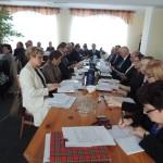 Sesja rady gminy w Baranowie