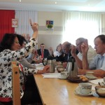 Sesja rady gminy w Troszynie