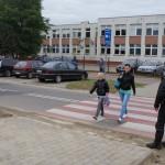 """Akcja policyjna """"Bezpieczna droga do szkoły"""""""