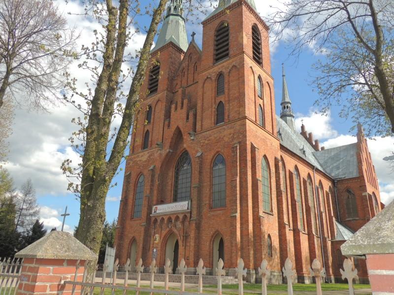 kościół w Rzekuniu