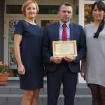Certyfikat dla prezydenta Ostrołęki (1)