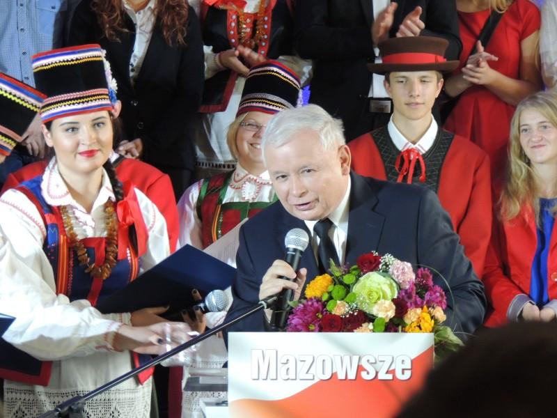Jarosław Kaczyński Kadzidło, Mazowiecka Konwencja PiS Kadzidło