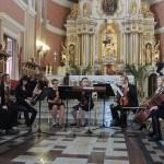 Koncert w kościele kadzidlańskim