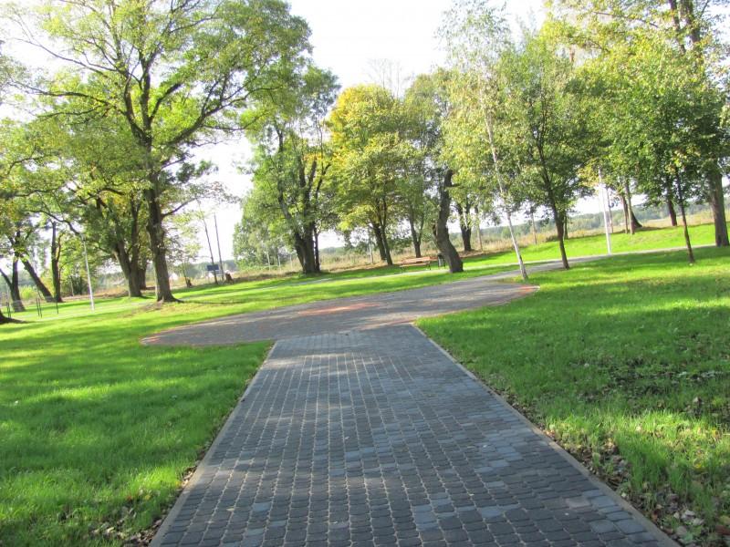 Pasieki park, Pasieki obelisk, Goworowo
