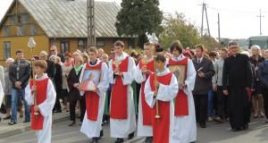 Relikwie świętych w Rzekuniu