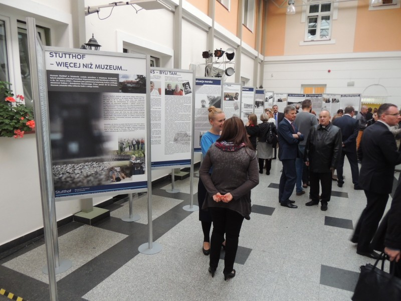 Wystawa Statthof, Bandysie, rocznica pacifikacji wsi Bandysie