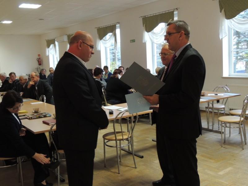 Sesja rady gminy Troszyn