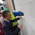 Wmurowanie kamienia węgielnego w SOSW w Ostrołęce