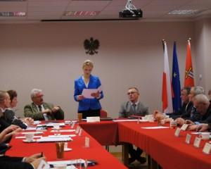 sesja rady gminy w Olszewie-Borkach